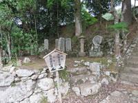 (写真2)泉光寺の大島家の墓